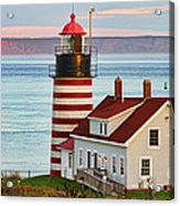 West Quoddy Head Lighthouse Acrylic Print