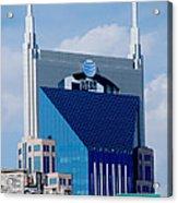 9th Avenue Att Building Nashville Acrylic Print