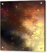A Beautiful Nebula Out In The Cosmos Acrylic Print