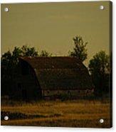 A Beauty Of An Old Barn Acrylic Print