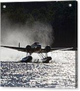 A Beechcraft D-18s Floatplane ,built Acrylic Print