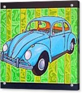 A Beetle Remembered Acrylic Print