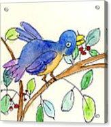 A Bird Acrylic Print