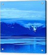 A Blue Slice Of Alaska Coast Acrylic Print
