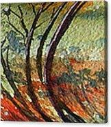 A breath of trees Acrylic Print