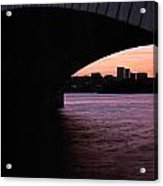 A Bridge To Rossalyn Acrylic Print