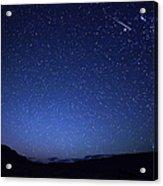 A Bright Sporadic Meteor Acrylic Print