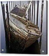 A Broken Boat Acrylic Print