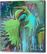 A Broken Wing - Abstract Acrylic Print