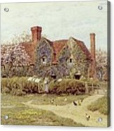 A Buckinghamshire House At Penstreet Acrylic Print