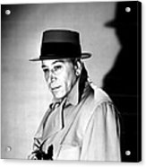 A Bullet For Joey, George Raft, 1955 Acrylic Print by Everett