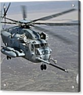 A Ch-53e Super Stallion Approaches Acrylic Print