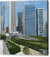 A Chicago View Acrylic Print