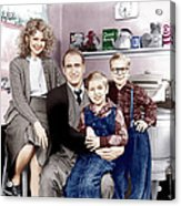 A Christmas Story, From Left Melinda Acrylic Print
