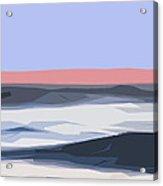 A Coastal Sunrise  Acrylic Print