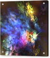 A Colorful Nebula In The Universe Acrylic Print
