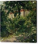 A Corner Of The Garden In Rueil Acrylic Print