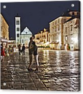 A Croatian Night Acrylic Print