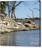 A Day At The Lake Acrylic Print