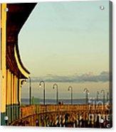 Playland Rye Beach Pier Acrylic Print