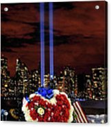 A Day Of Remembrance Nine Eleven Acrylic Print