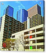 A Different Perspective On Downtown Los Angeles I Acrylic Print