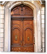A Door In Arles Acrylic Print