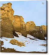 A Dusting On Monument Rocks Acrylic Print