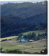 A Farm In The Valley Img 6794 Acrylic Print