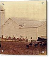 A Farm Somewhere Acrylic Print
