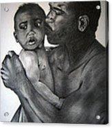 A Fathers Love Acrylic Print