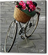 A Flower Delivery Acrylic Print