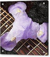 A Flower Music And Romance Acrylic Print