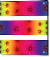 A Fractal Spectrum Acrylic Print