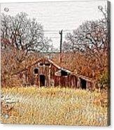 A-frame Barn - No.745 Acrylic Print