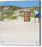 A Full Service Beach Acrylic Print