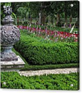 A Garden View Acrylic Print