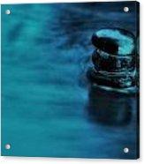 A Gentle Deluge Acrylic Print
