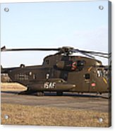 A German Ch-53gs Helicopter At Stendal Acrylic Print