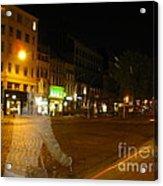 A Ghost Of Antwerp. Belgium. Acrylic Print