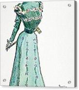 A Gibson Girl, 1899 Acrylic Print