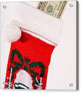 A Gift From Santa Acrylic Print