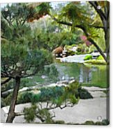 A Glimpse Of Tranquility Acrylic Print