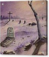 A  Grave Yard Acrylic Print