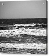 A Gray November Day At The Beach - II  Acrylic Print