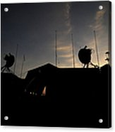 A Ground Control Station Which Operates Acrylic Print by Stocktrek Images