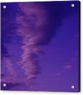 A Kind Of Blue Sky  Acrylic Print