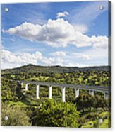 A Large Highway Bridge An Elevated Acrylic Print by Don Mason