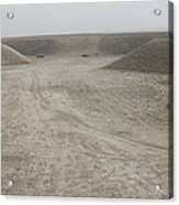 A Large Wadi Near Kunduz, Afghanistan Acrylic Print