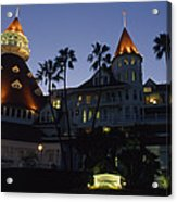 A Late Afternoon View Of The Hotel De Acrylic Print